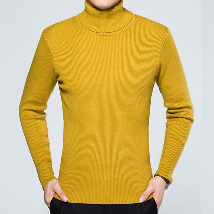 Men's Slim Thick Cashmere Pullover