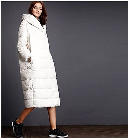 Women's Winter Thick Warm Cotton Long Parka