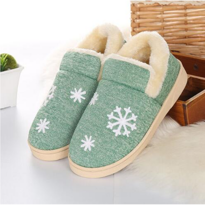 Women's Winter Warm Faux Fur Home Slippers