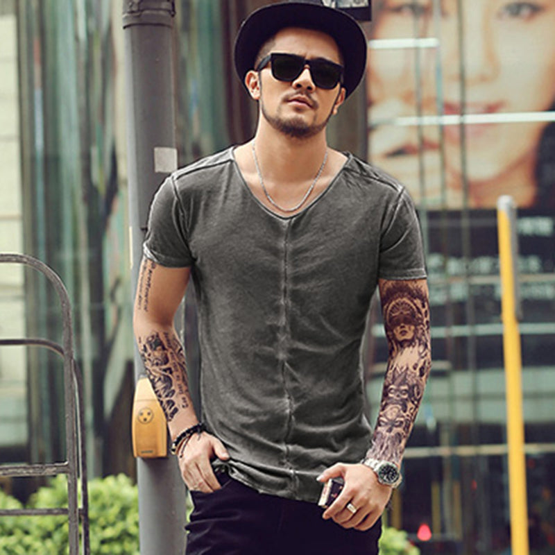 Men's Summer Short Sleeved T-Shirt