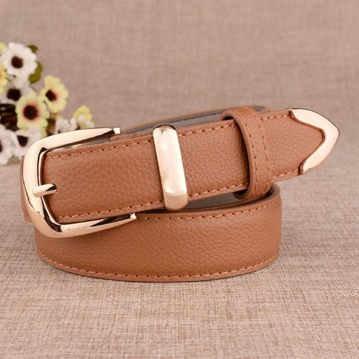 PU Leather Fashion Belts For Women