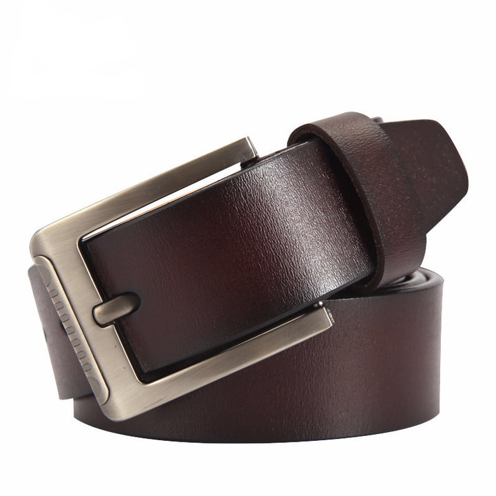 belt – Fashionable Cow Genuine Leather Men's Belt | Zorket