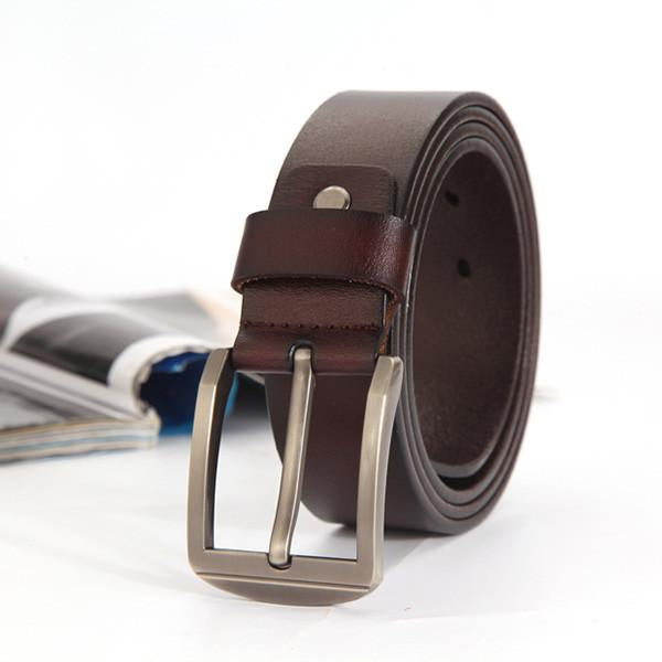 Fashionable Cow Genuine Leather Men's Belt