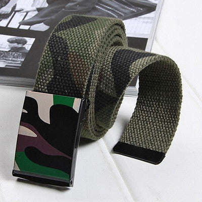Belt – Male Tactical Camouflage Automatic Belt | Zorket