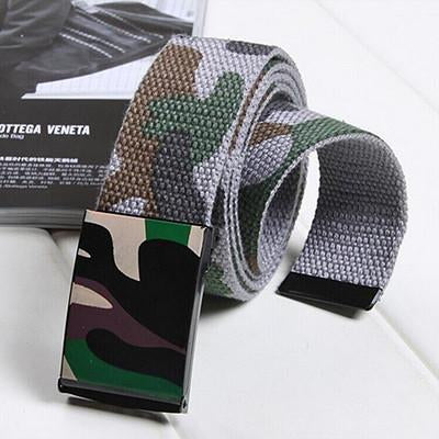 Male Tactical Camouflage Automatic Belt