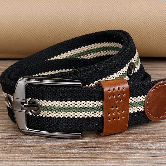 Fashionable Casual Fabric Belt For Men