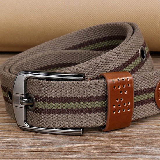 belt – Fashionable Casual Fabric Belt For Men | Zorket