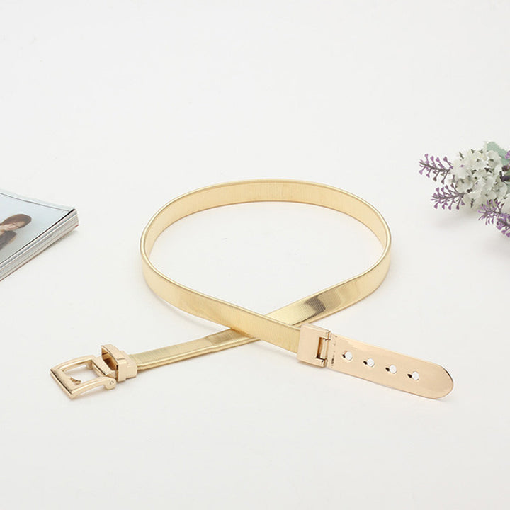 Belt – Luxury Elastic Vintage Metal Buckle Belt | Zorket
