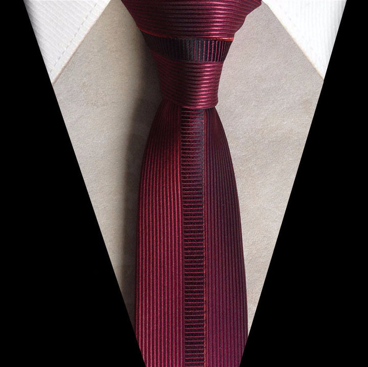 Tie – Men's Business Tie With Vertical Stripes | Zorket