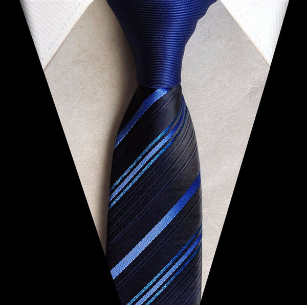 Tie – Stylish Slim Men's Tie With Contrast Knot | Zorket