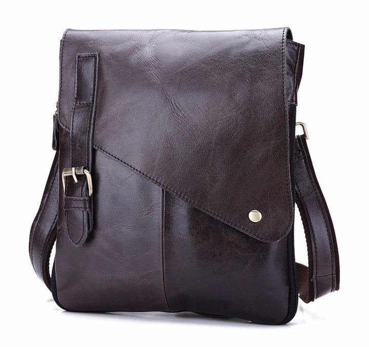 Crossbody Bag – Genuine Leather Vintage Casual Messenger Bag | Zorket