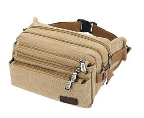 Waist Packs – Canvas Portable Men's Waist Pack | Zorket