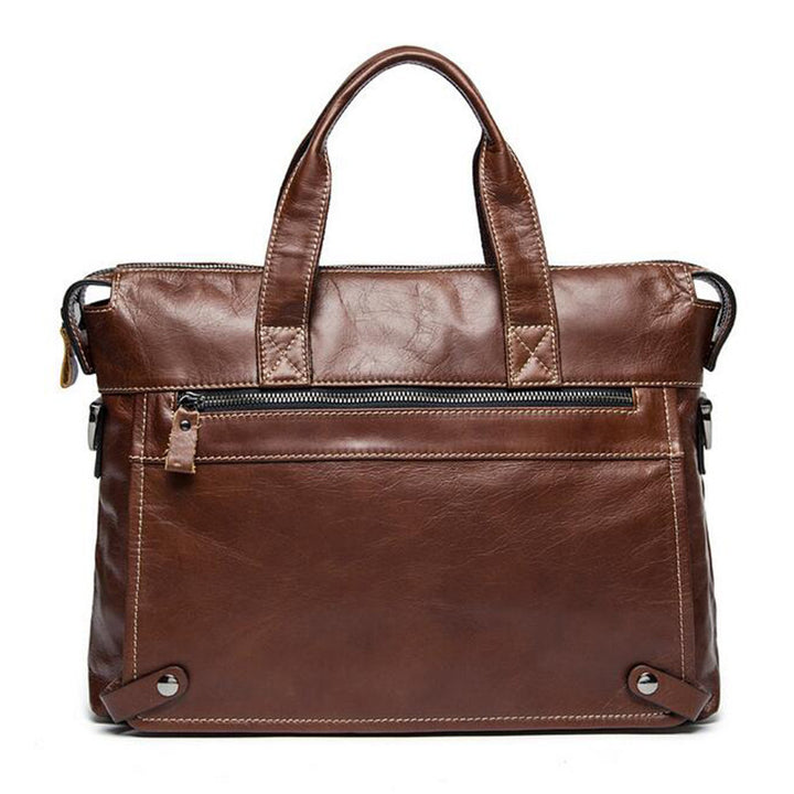 Tote – Men's Casual Genuie Leather Tote Bag | Zorket