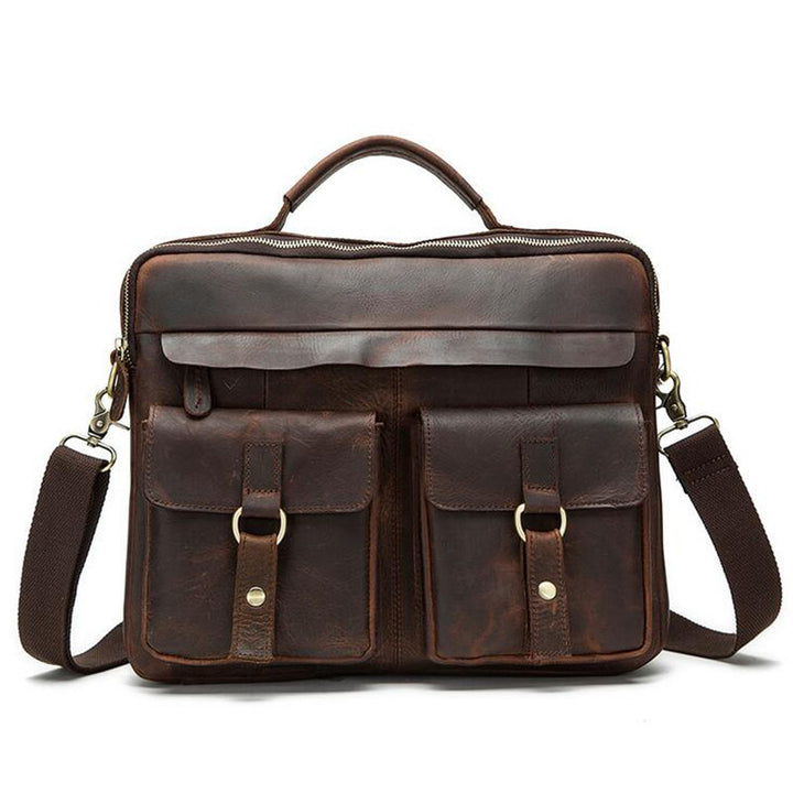 Briefcase – Men's Briefcase Of Genuine Leather | Zorket