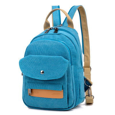 Women's Canvas Multifunctional Small Backpack - Zorket