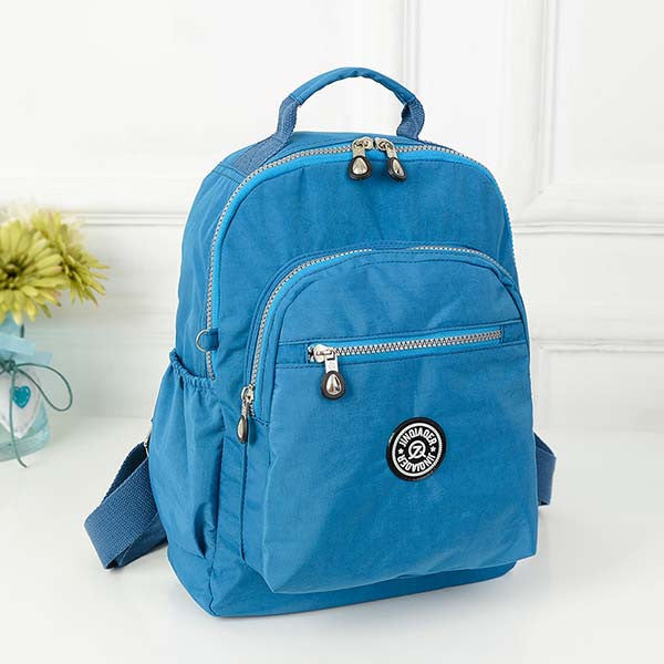 Women's High Quality Waterproof Nylon Backpack - Zorket