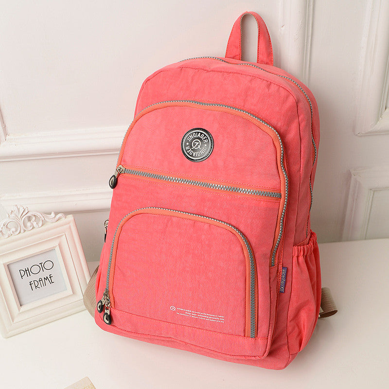 Women's Waterproof Nylon High Quality Backpack - Zorket