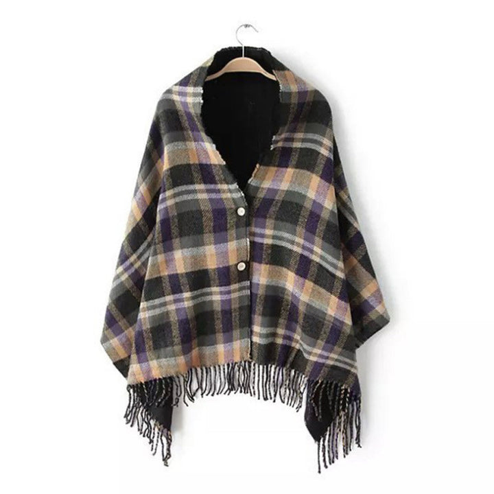 Top Quality Ladies Casual Winter Poncho - Zorket