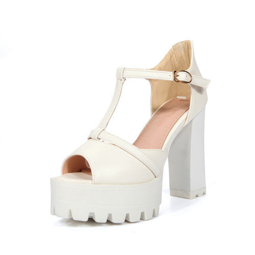 Female High-Heeled Summer Sandals - Zorket