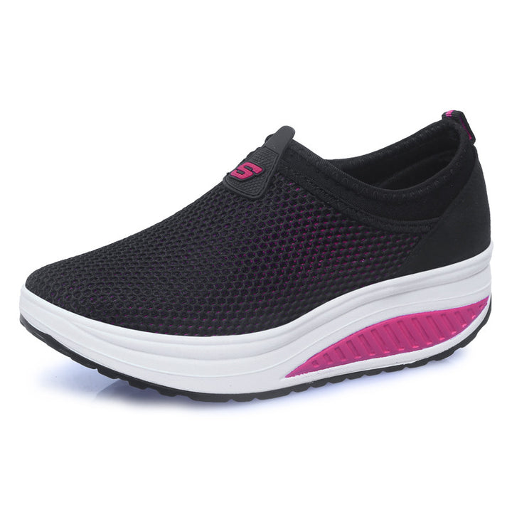 Platform Women's Summer Breathable Sneakers - Zorket