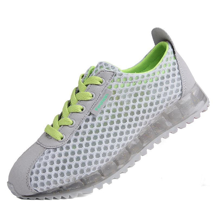 Women's Flat Outdoor Walking Sneakers - Zorket