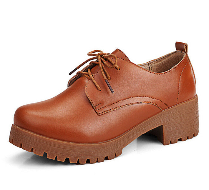 Oxfords – England Style Women's Platform Fashion Oxfords | Zorket