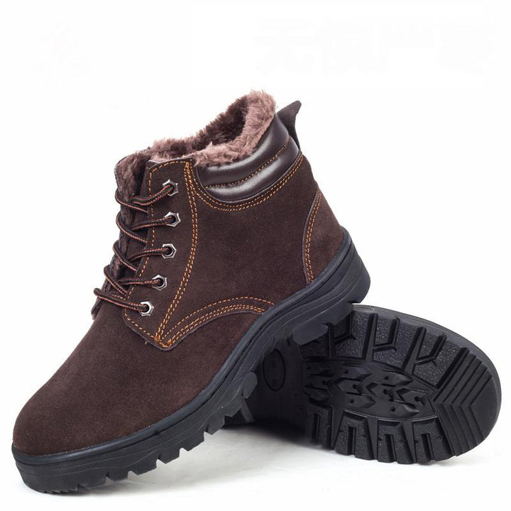 Boots – Genuine Leather Men's Warm Winter Boots | Zorket