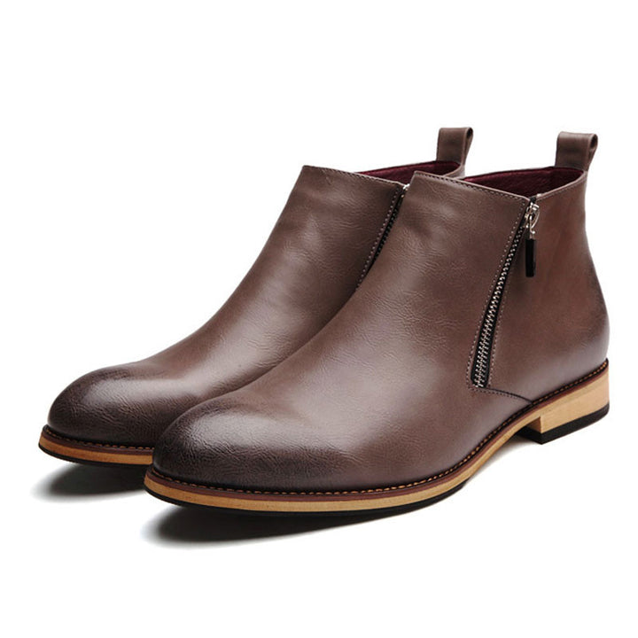 Boots – Men's Casual Genuine Leather Boots | Zorket