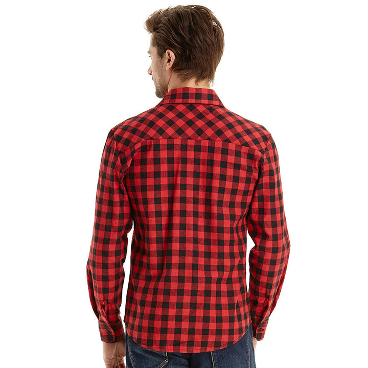 Shirt – High Quality Men's Vintage Long Sleeved Shirt | Zorket