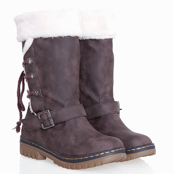 Boots – Female Winter Warm Boots With Fur Inside | Zorket
