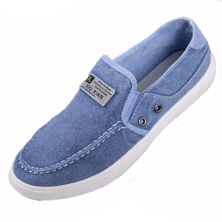Slip-Ons – Casual Canvas Solid Color Slip-Ons For Men | Zorket