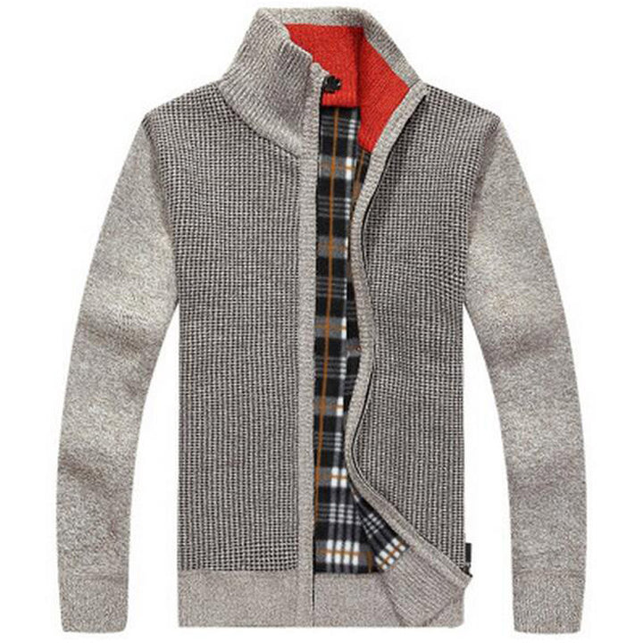 Men's Fashion Stand Collar Loose Style Late Autumn & Winter Sweater - Zorket