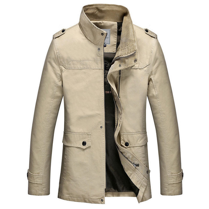 Men's Autumn / Winter Trench Coat - Zorket