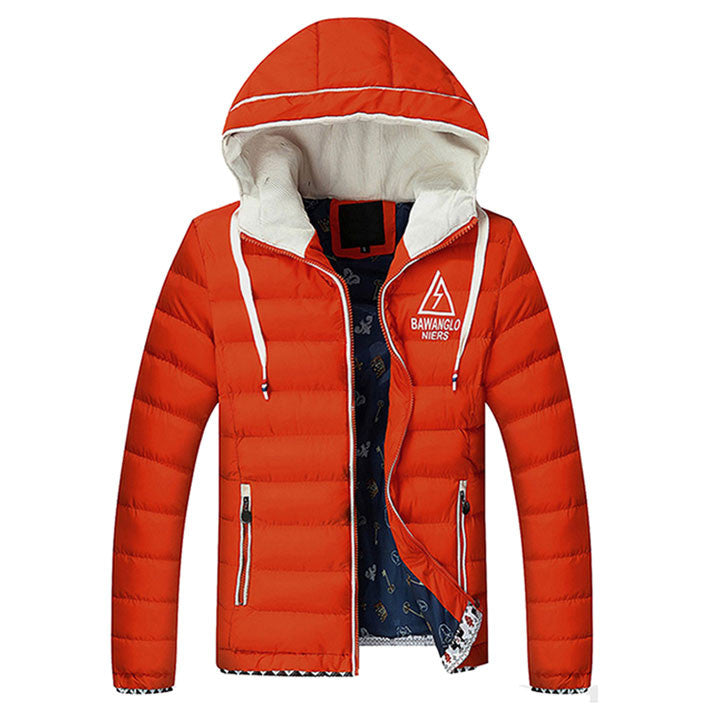 Men's Winter Hooded Down Jacket - Zorket