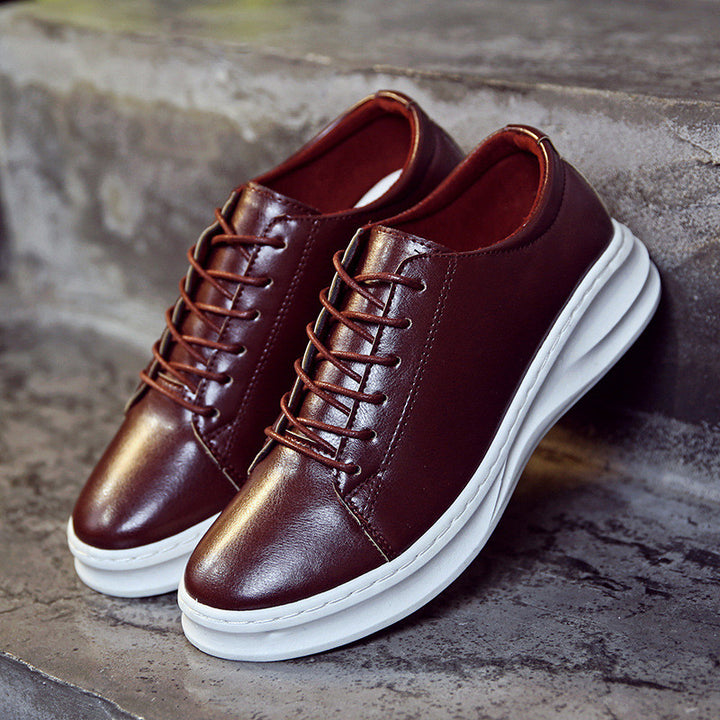 Spring / Autumn Men's PU Leather Casual Shoes - Zorket