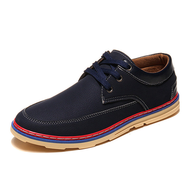 Flats – Man's Autumn / Spring PU Leather Casual Shoes | Zorket