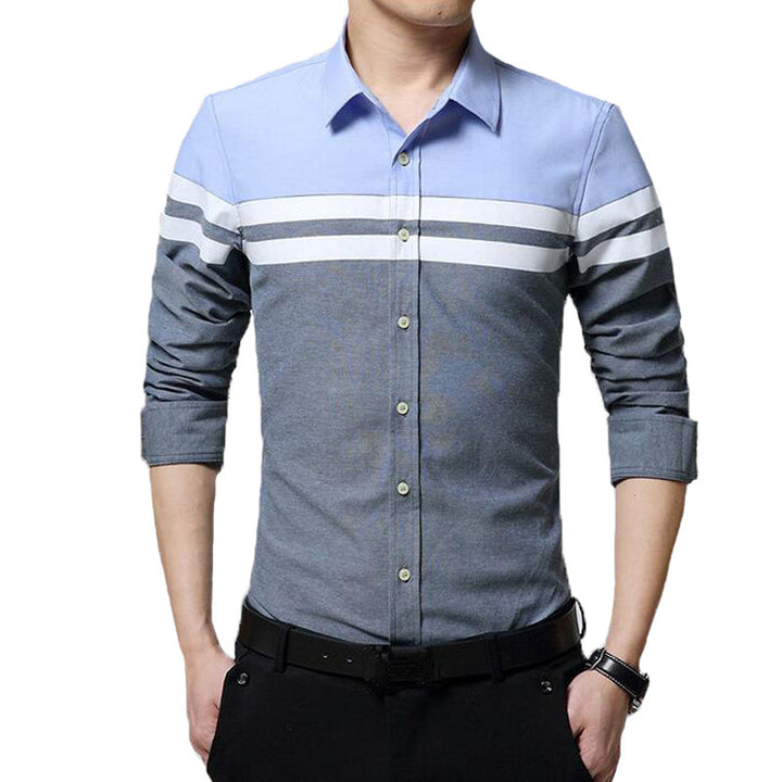 Men's Spring / Autumn Casual Long Sleeved Shirt - Zorket