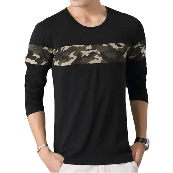 Men's Long Sleeved O-neck T-Shirt - Zorket
