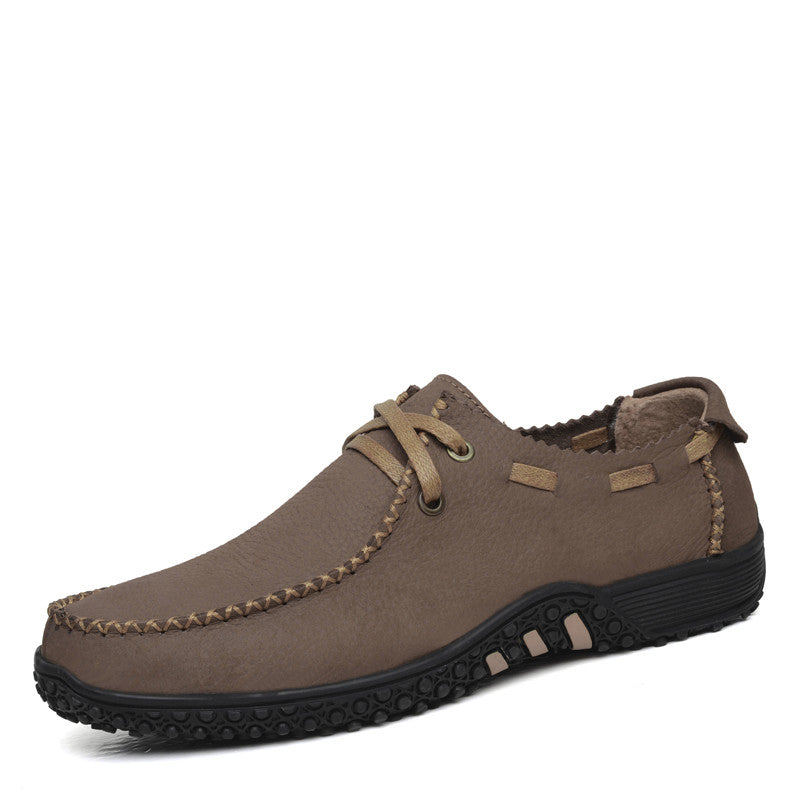 Flats – Genuine Leather Men's Fashonable Shoes | Zorket