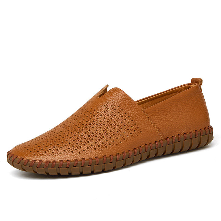 Flats – Genuine Leather Soft Men's Casual Flat Shoes | Zorket