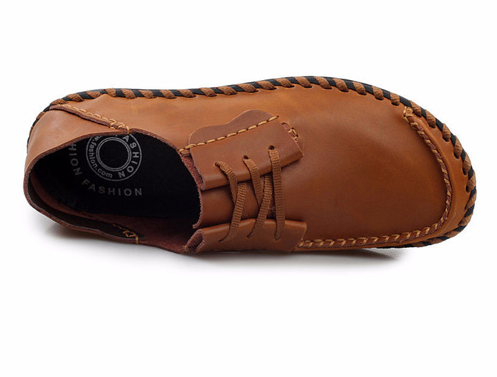 Men's Spring / Summer Genuine Leather Loafers - Zorket