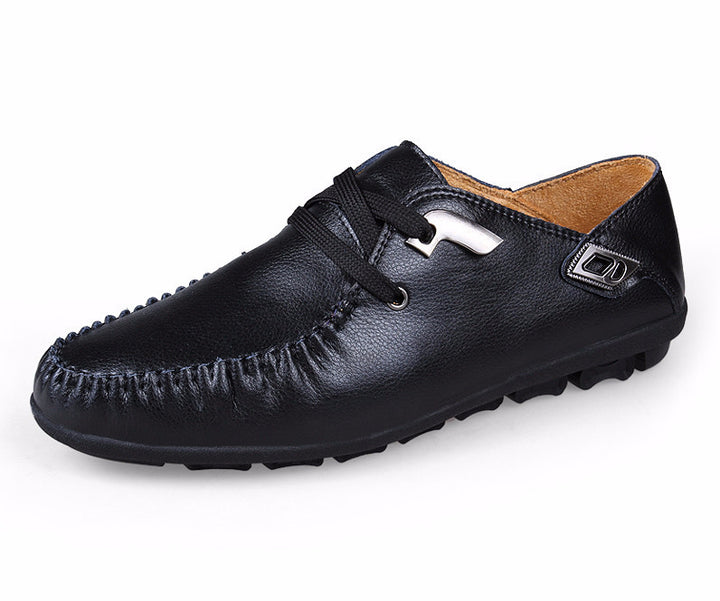 Best Quality Genuine Leather Men's Flat Loafers - Zorket
