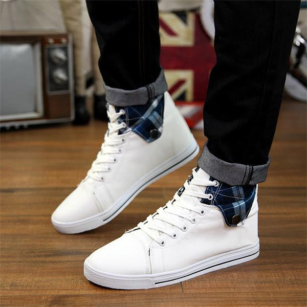 Stylish Casual Canvas Boots For Men - Zorket