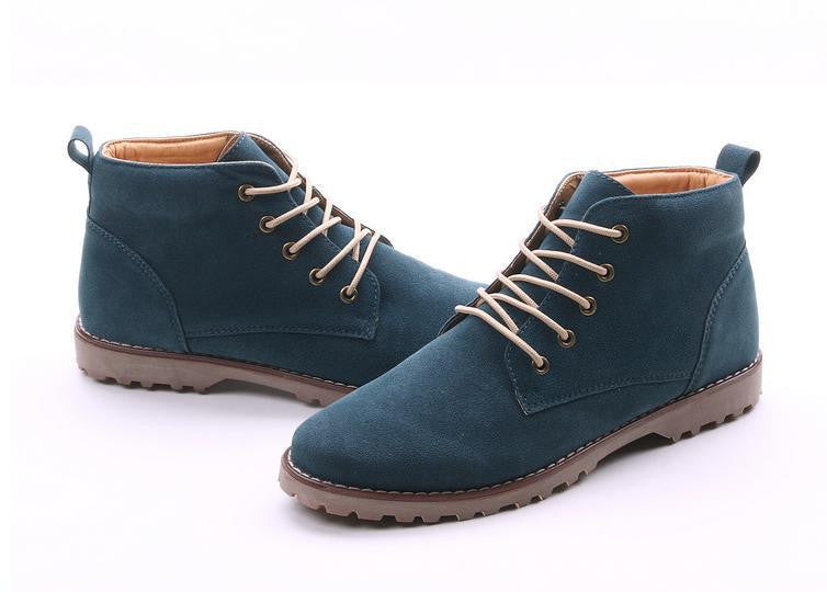Boots – Lace-Up Casual Men's Autumn Boots | Zorket