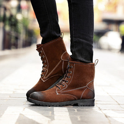 Boots – Men's Casual Suede Stylish Boots | Zorket