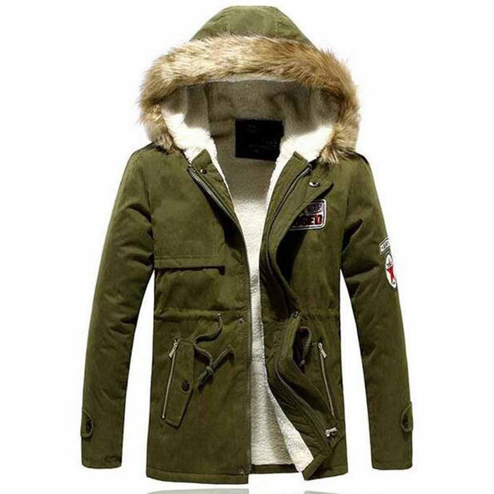 Men's Casual Windproof Warm Parka - Zorket