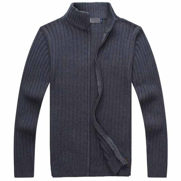 Sweater – Men's Casual Style Stand Collar Sweater | Zorket