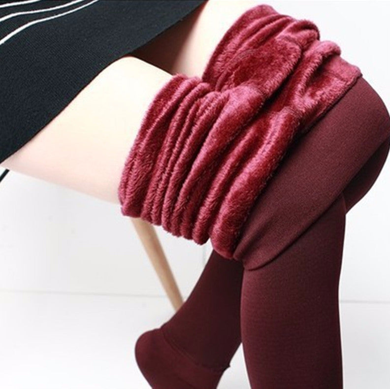 Autumn & Winter Women's Warm Leggings - Zorket