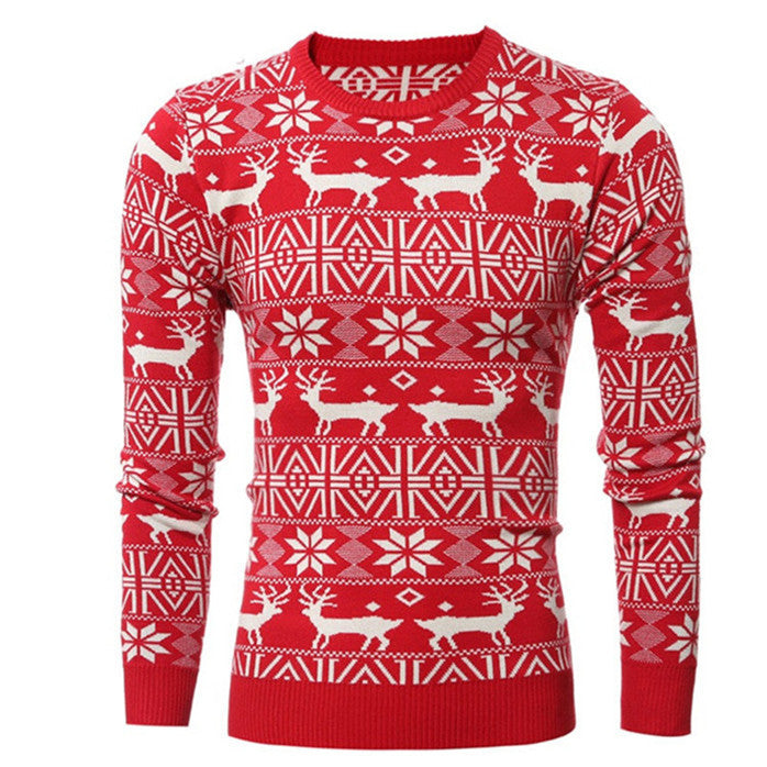 Men's O-Neck Winter Christmas Pullover - Zorket