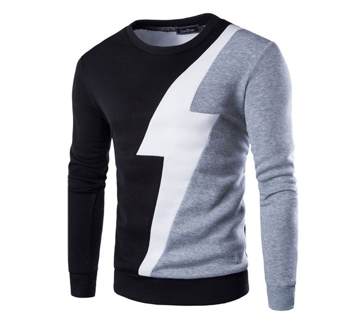 Men's High Quality O-Neck Casual Sweatshirt - Zorket